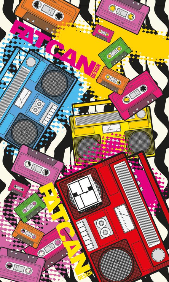 Cassette – lightweight microfiber towel for travel