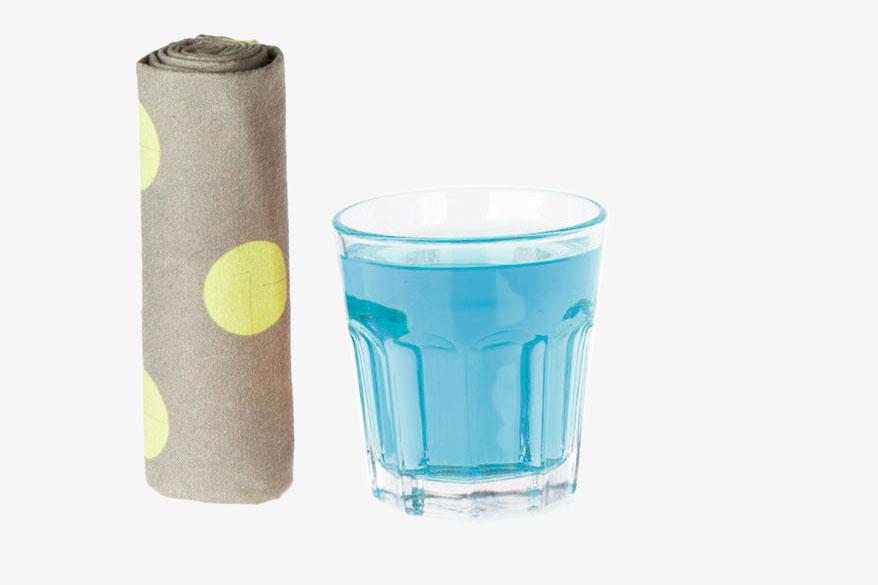 PIMP MY TOWEL: Teli in microfibra che asciugano vermanete.
