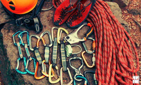 CARABINERS – Customized microfiber towel for climbing