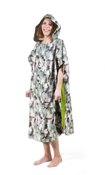 Poncho Sport Green Camouflage - PimpUp - Microfiber
