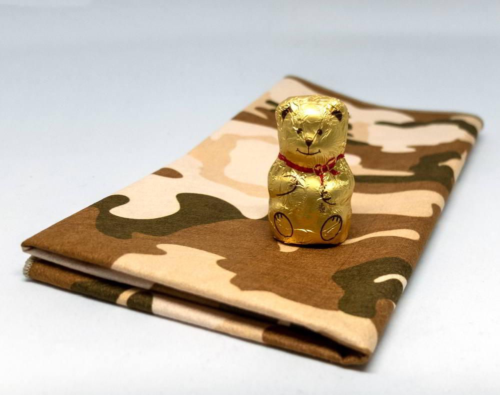 telo asciugmano microfibra drysecc mimetico camouflage